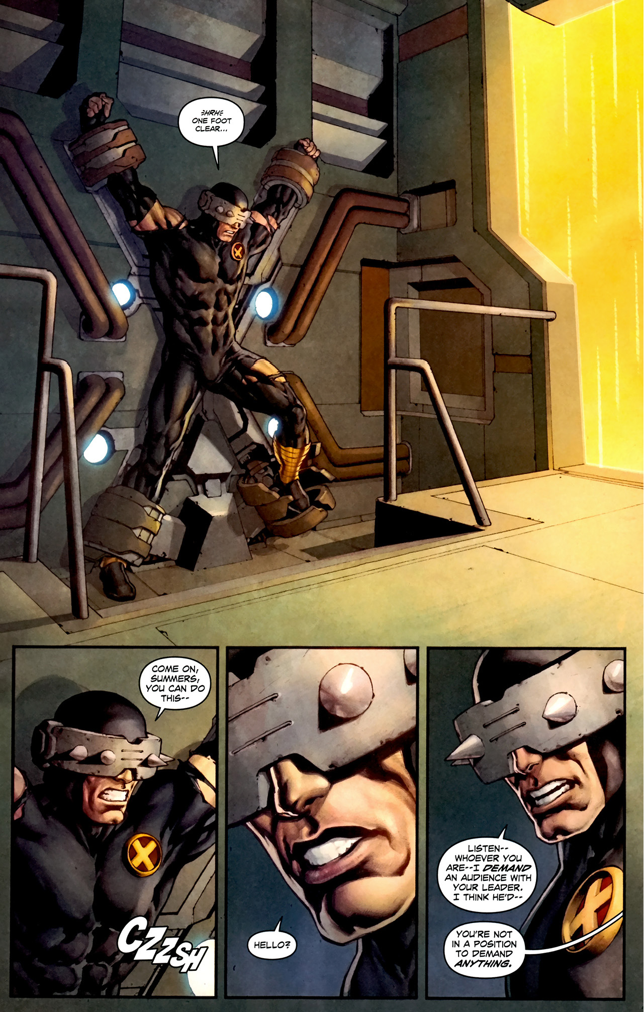 what hope summers wants cyclops to say