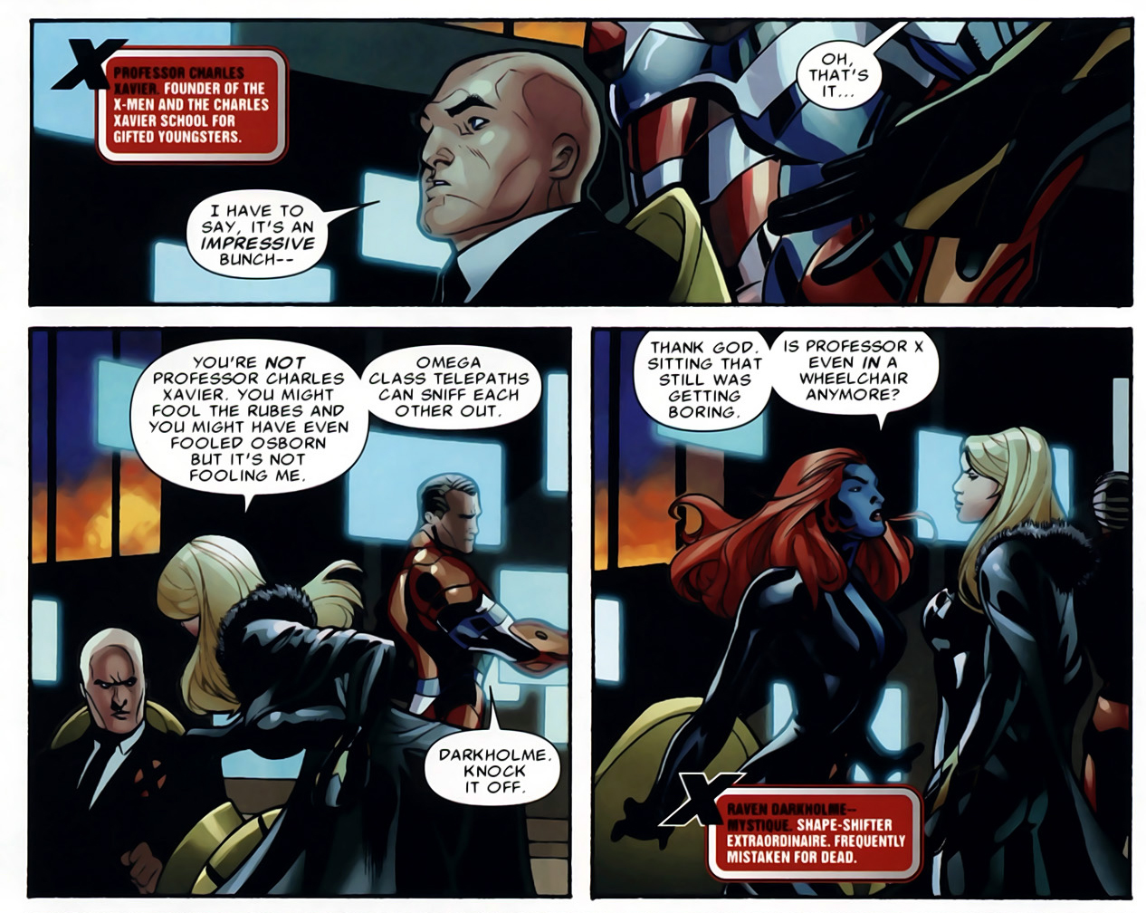 emma frost is an omega-class telepath