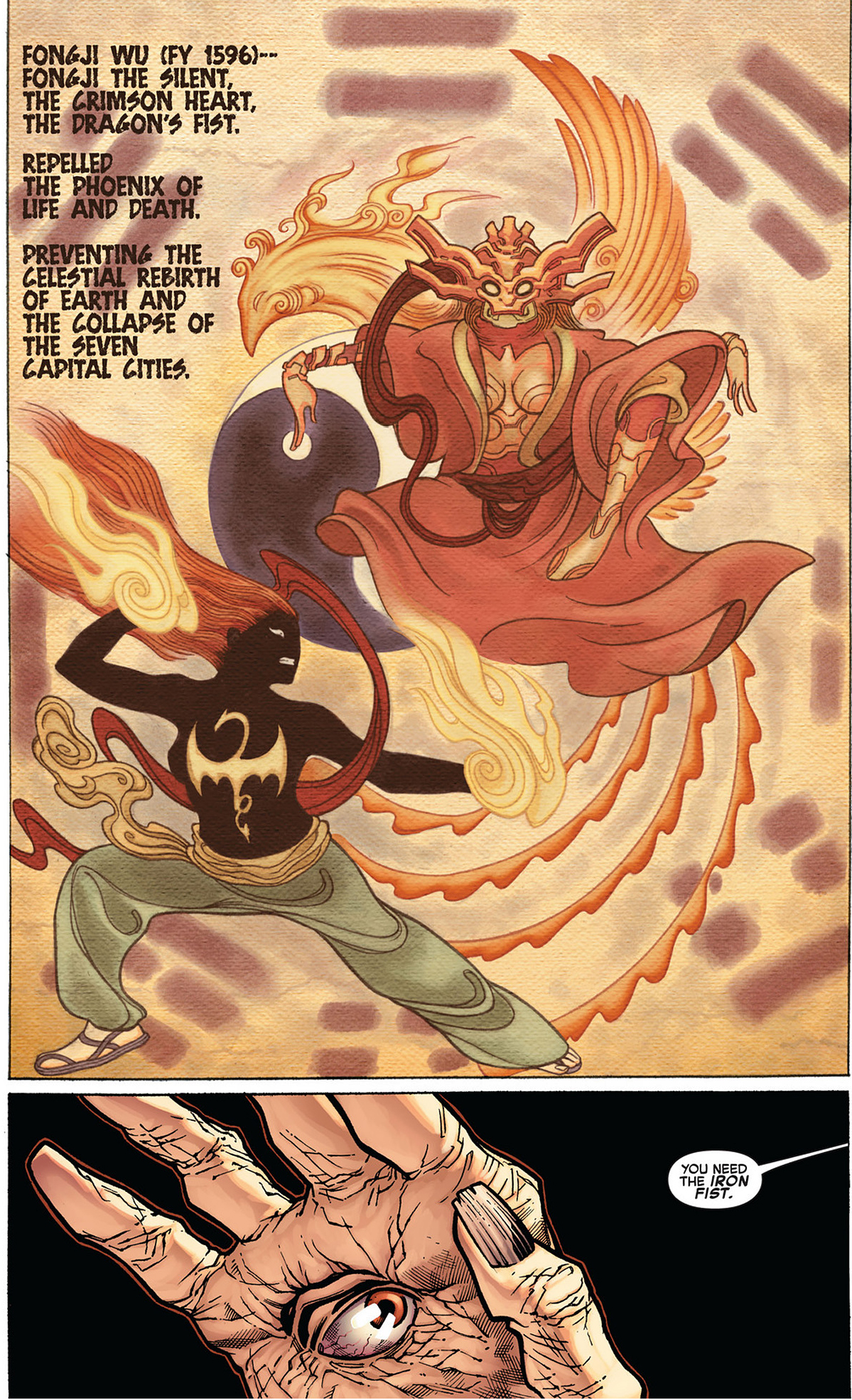 how iron fist is connected to the phoenix