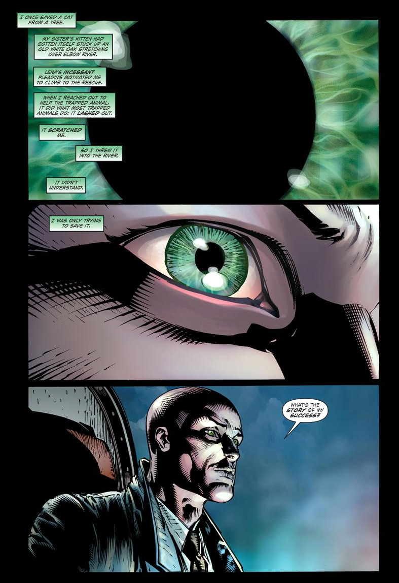 how lex luthor negotiated with thomas kord