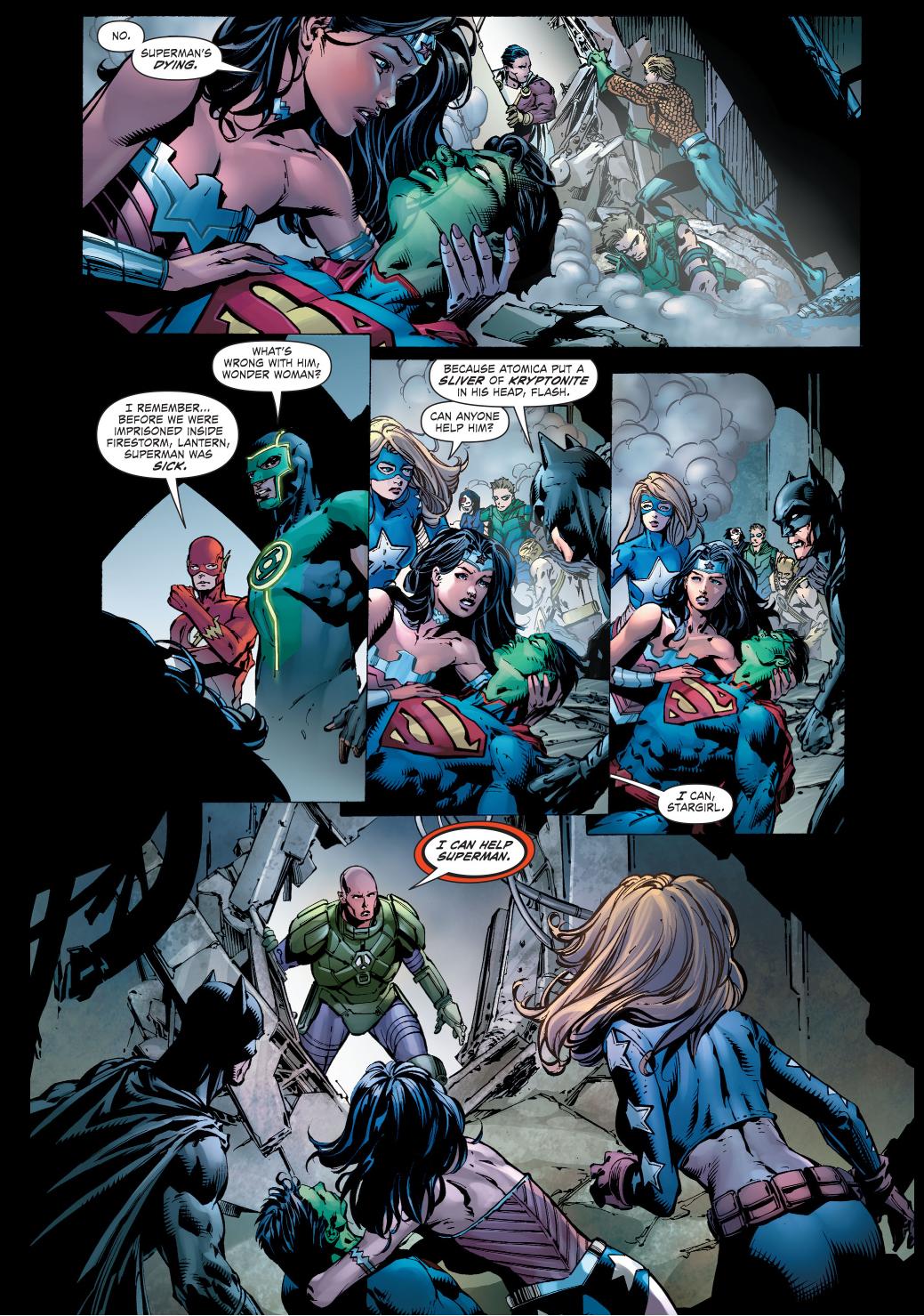 lex luthor operates on superman