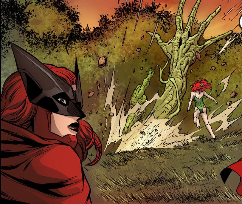 poison ivy vs swamp thing (injustice gods among us)