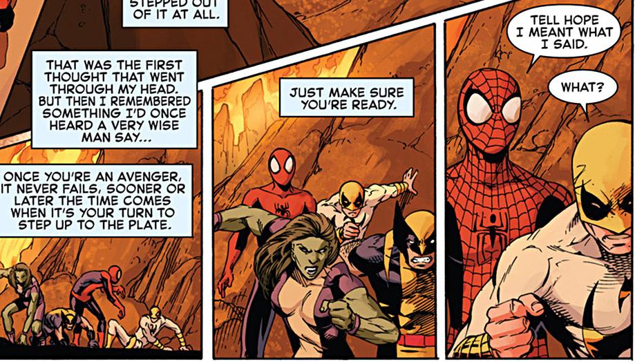 spider-man sacrifices himself