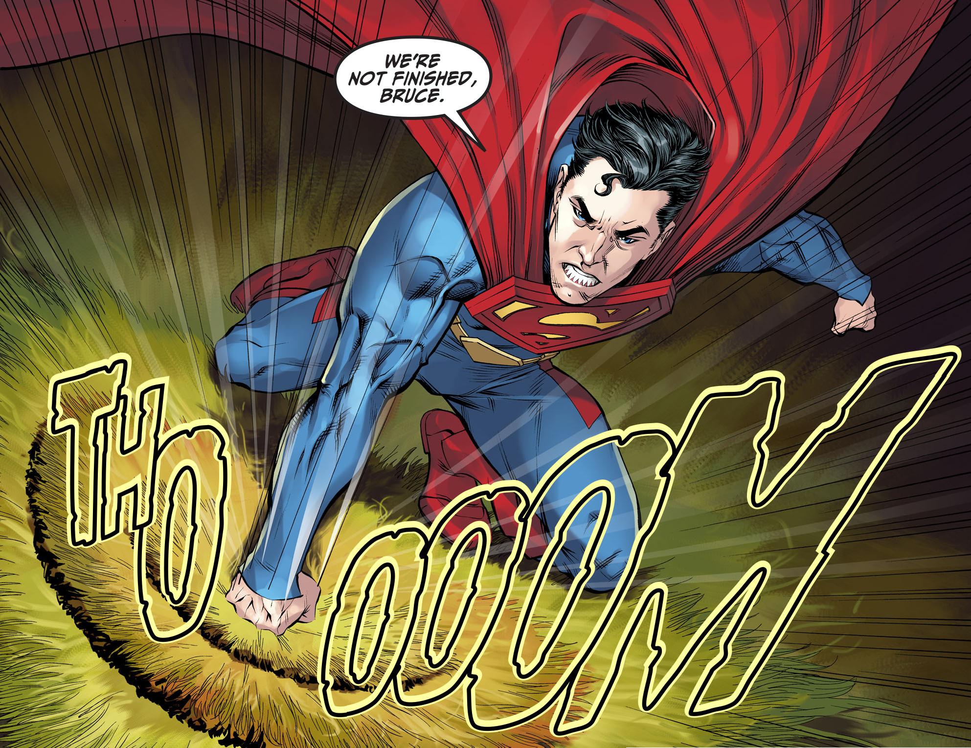 superman vs batman (injustice gods among us)