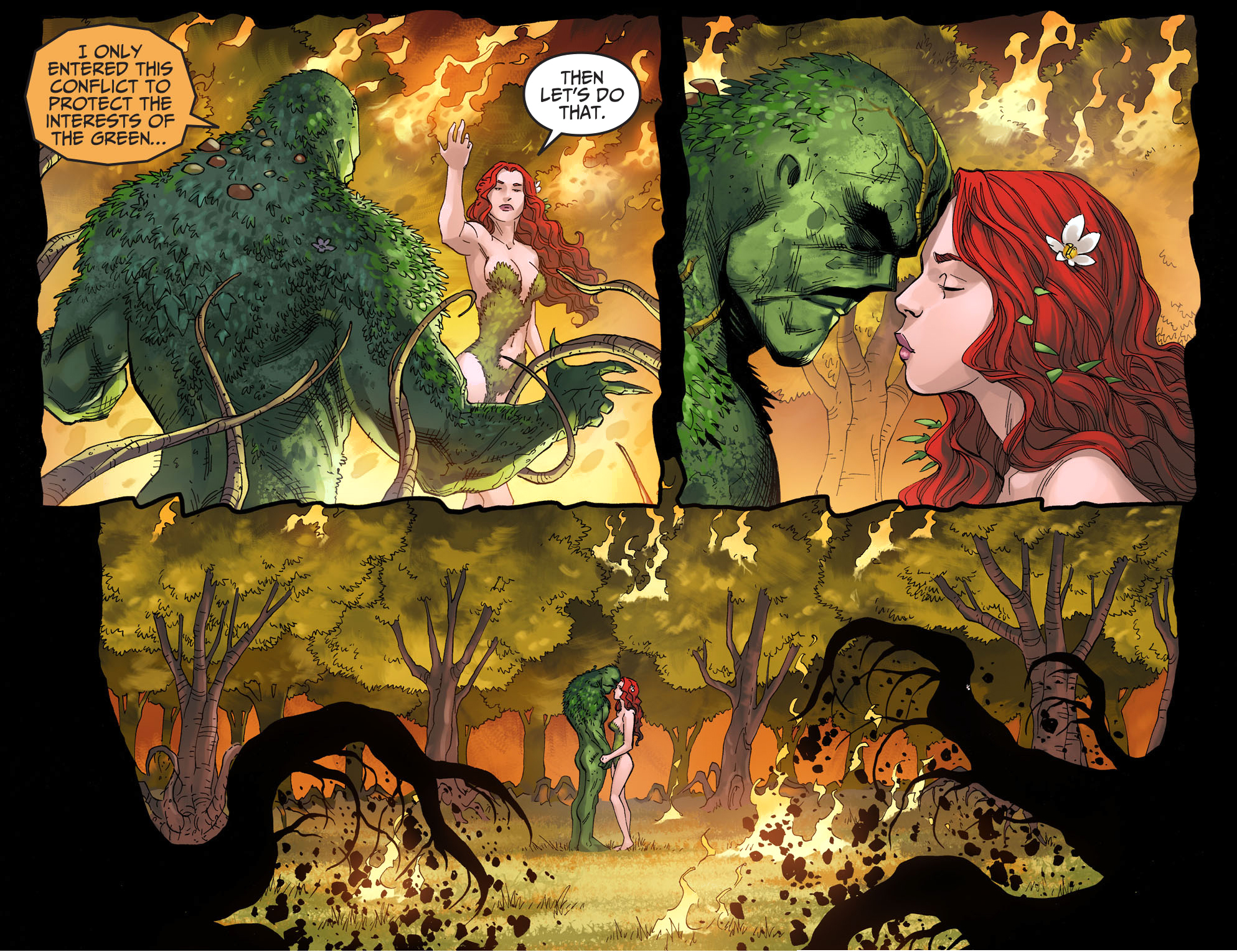 swamp thing vs poison ivy