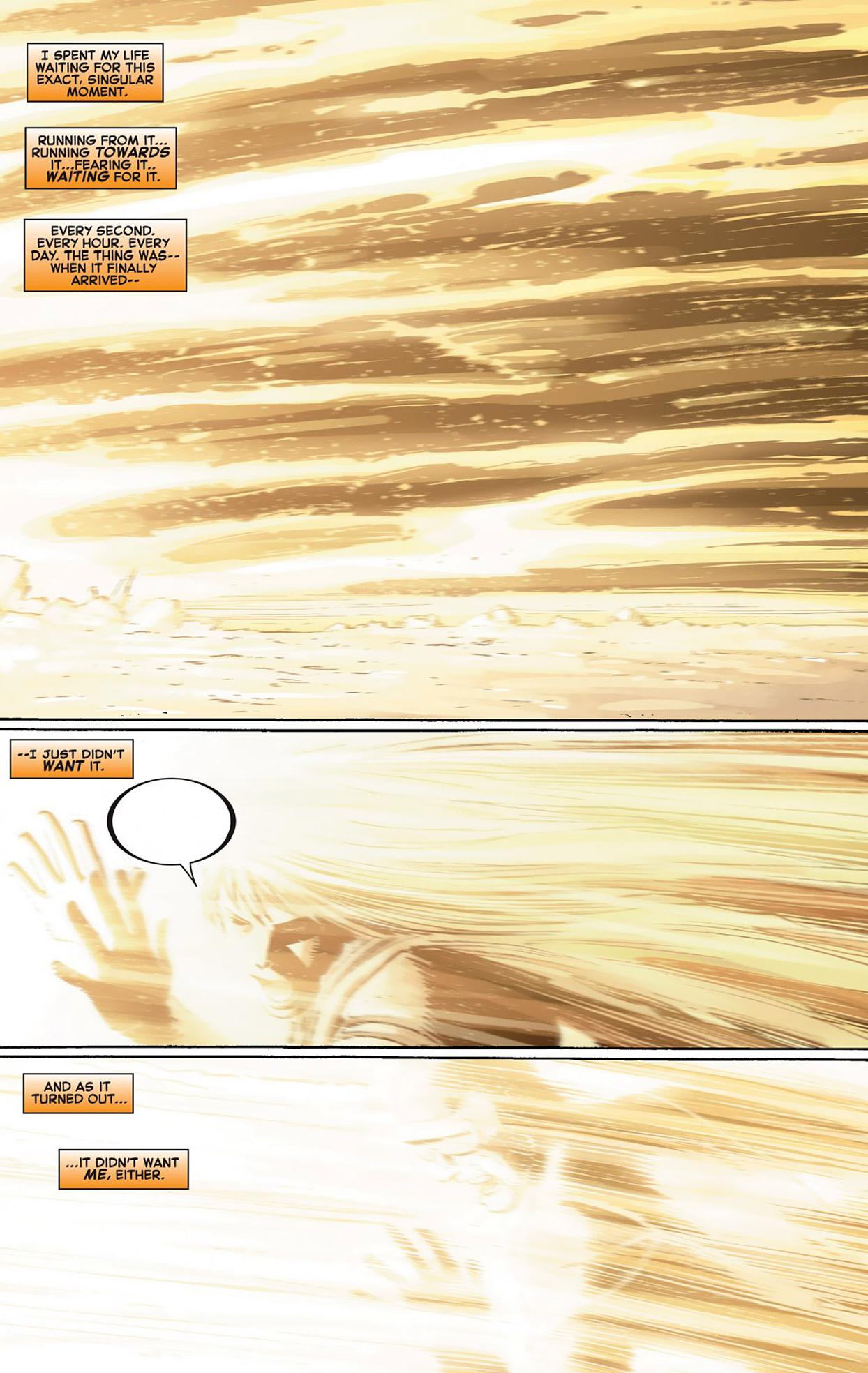 what happened when iron man shot the phoenix