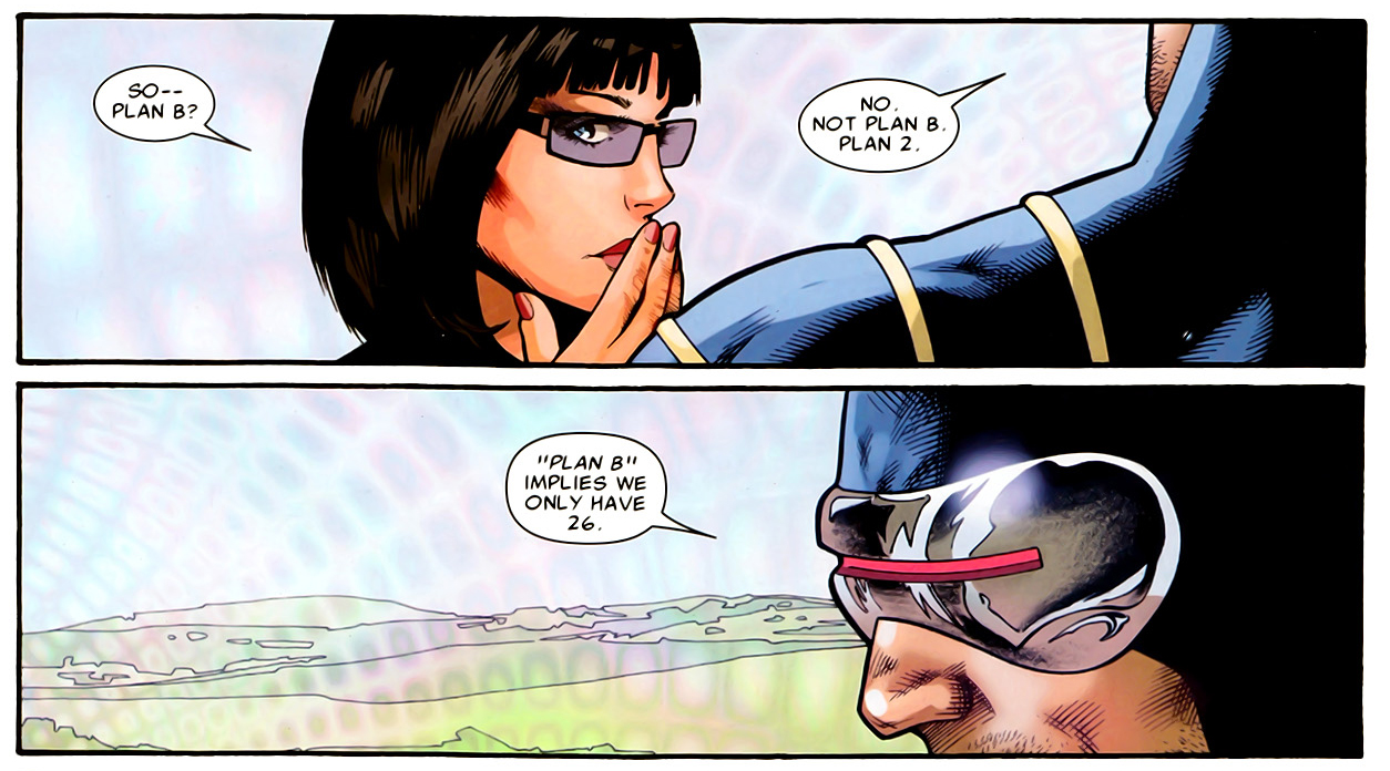 why cyclops doesn't have a plan b