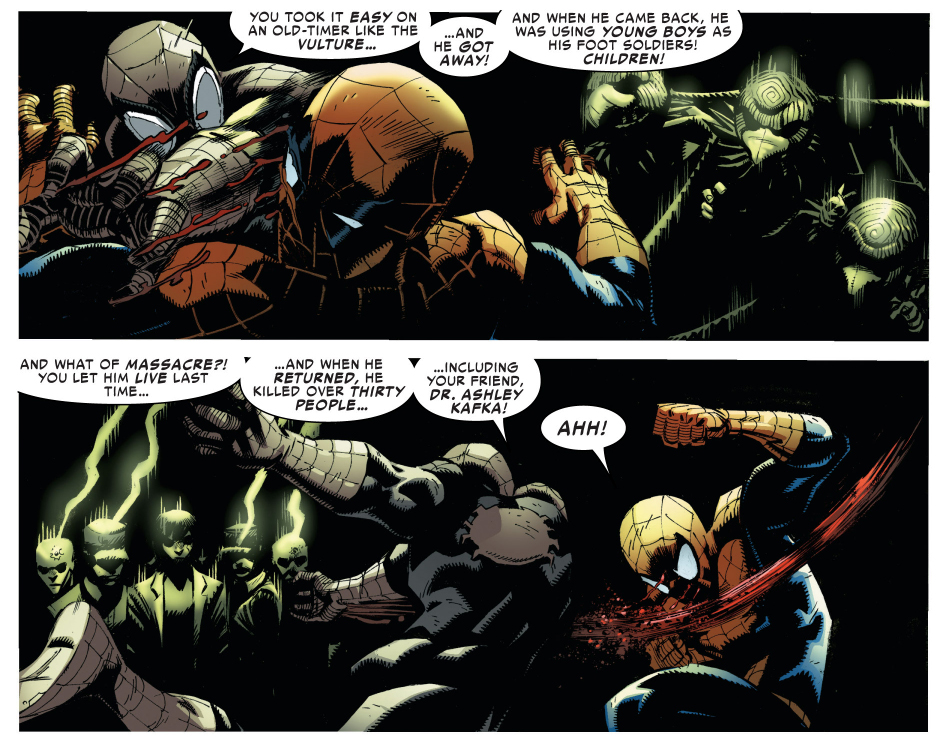amazing spider-man vs superior spider-man