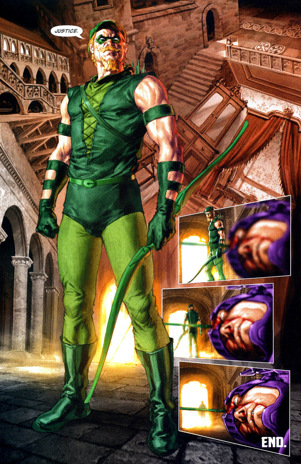 green arrow kills prometheus