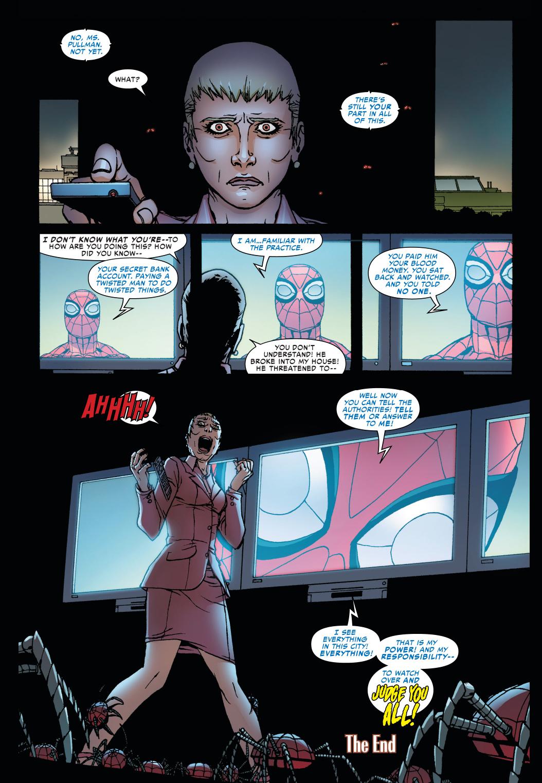 superior spider-man blackmails corporations