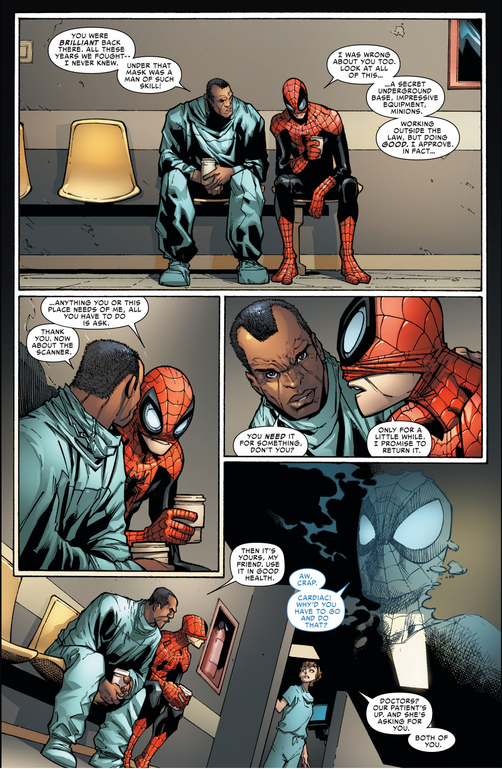 superior spider-man performs surgery