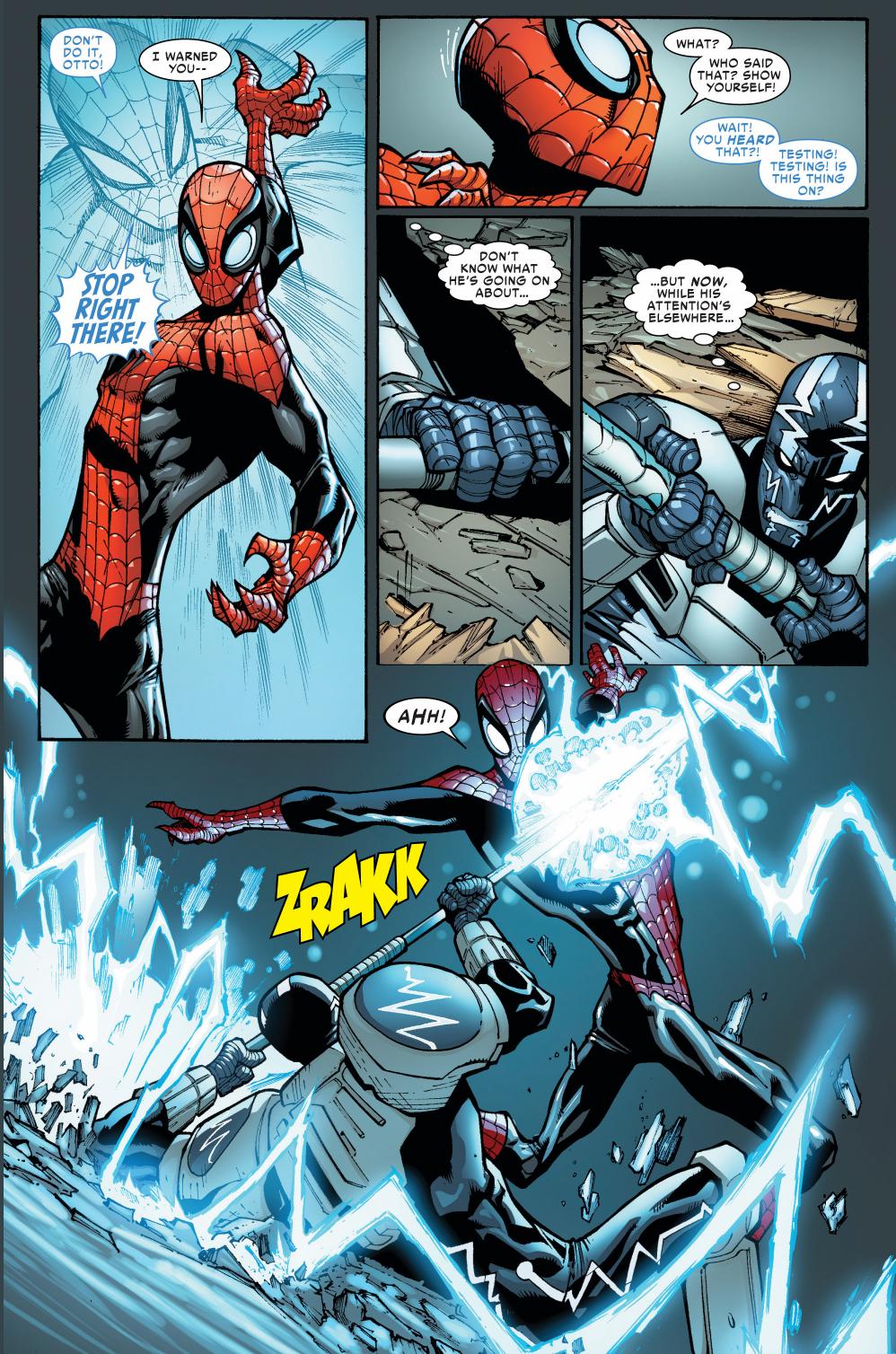 superior spider-man vs cardiac