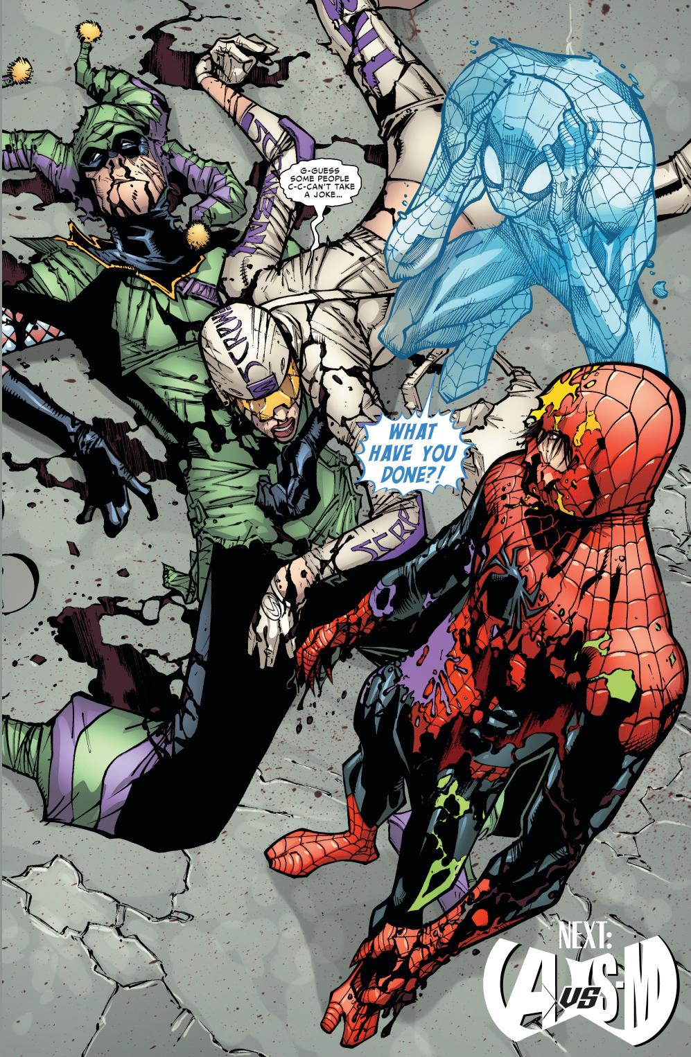 superior spider-man vs jester and screwball