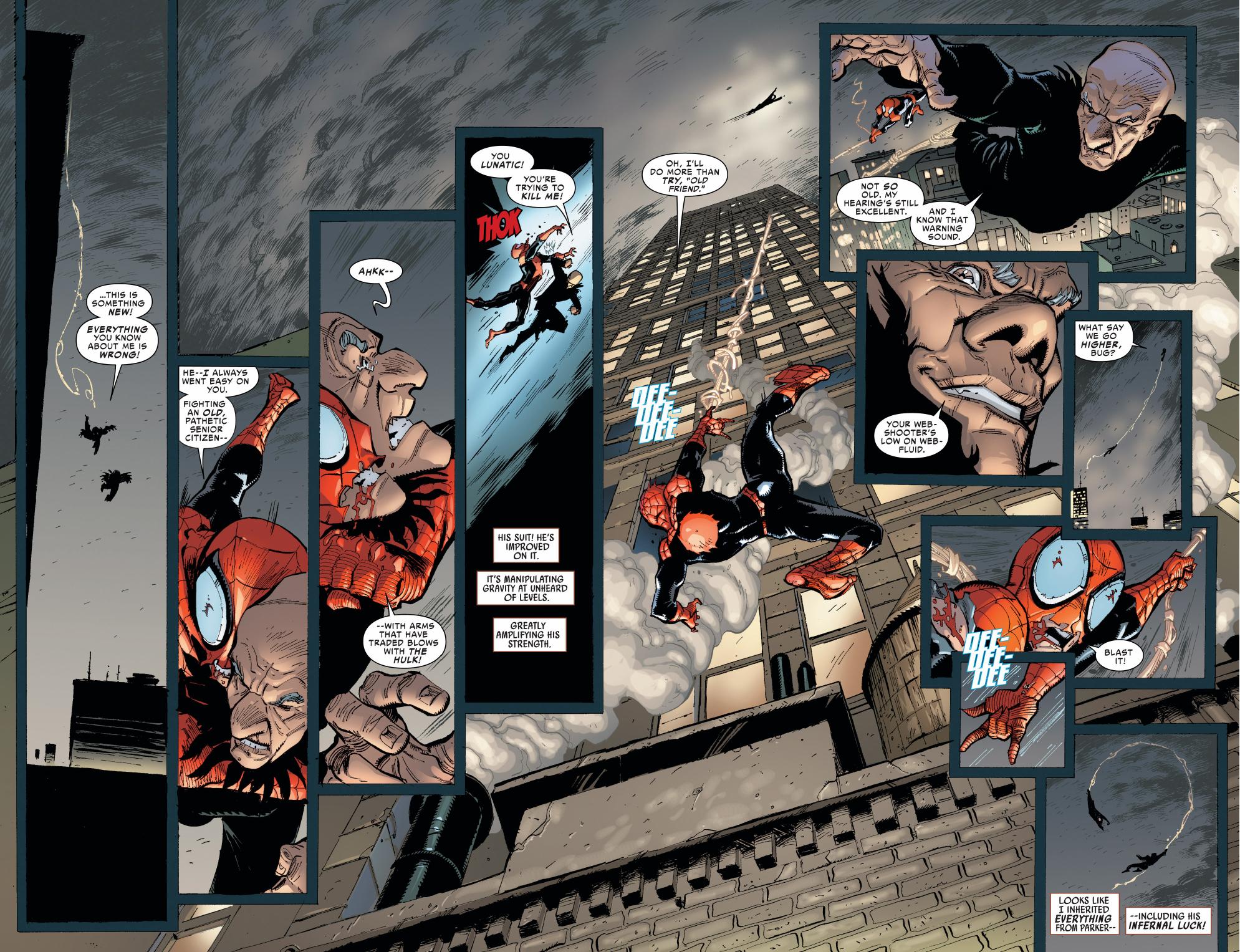 superior spider-man vs the vulture