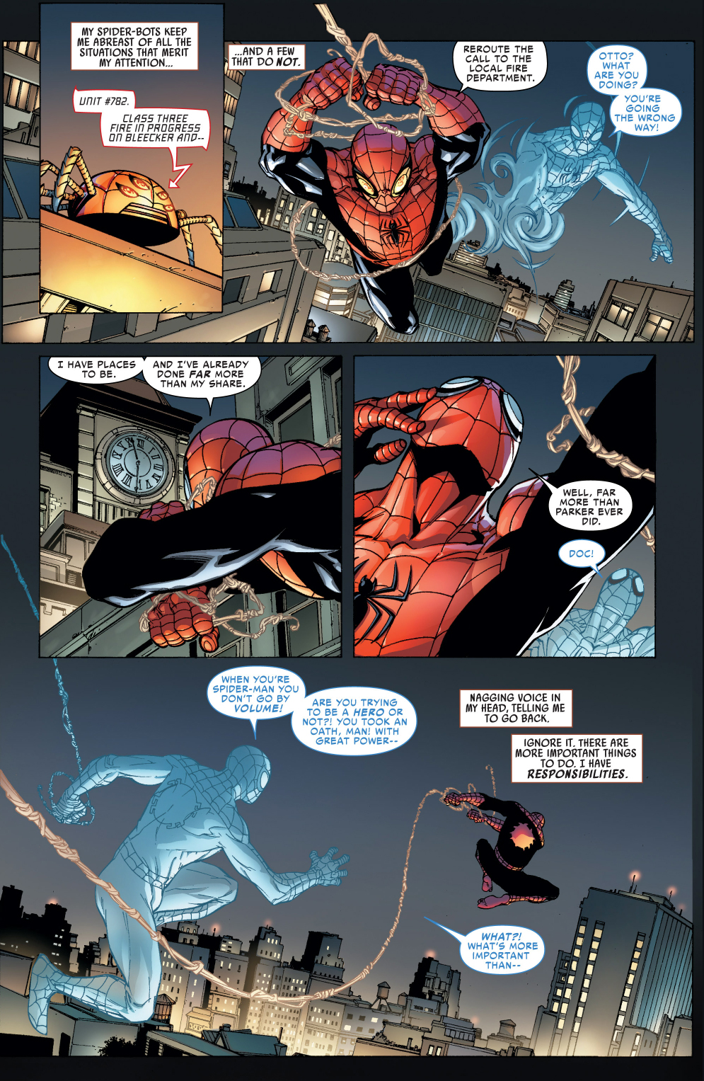 superior spider-man's crime fighting results