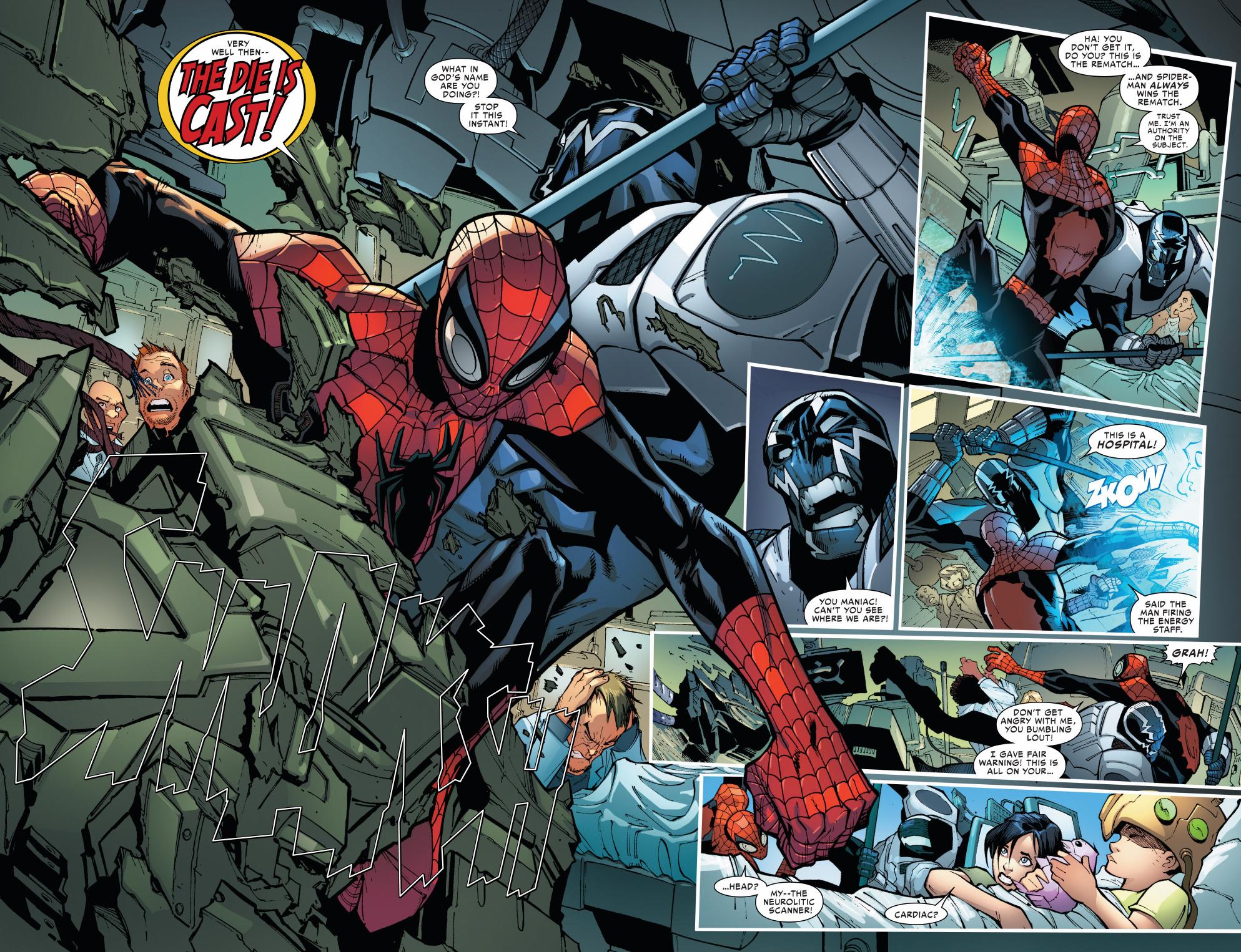 superior spiderman vs cardiac rematch