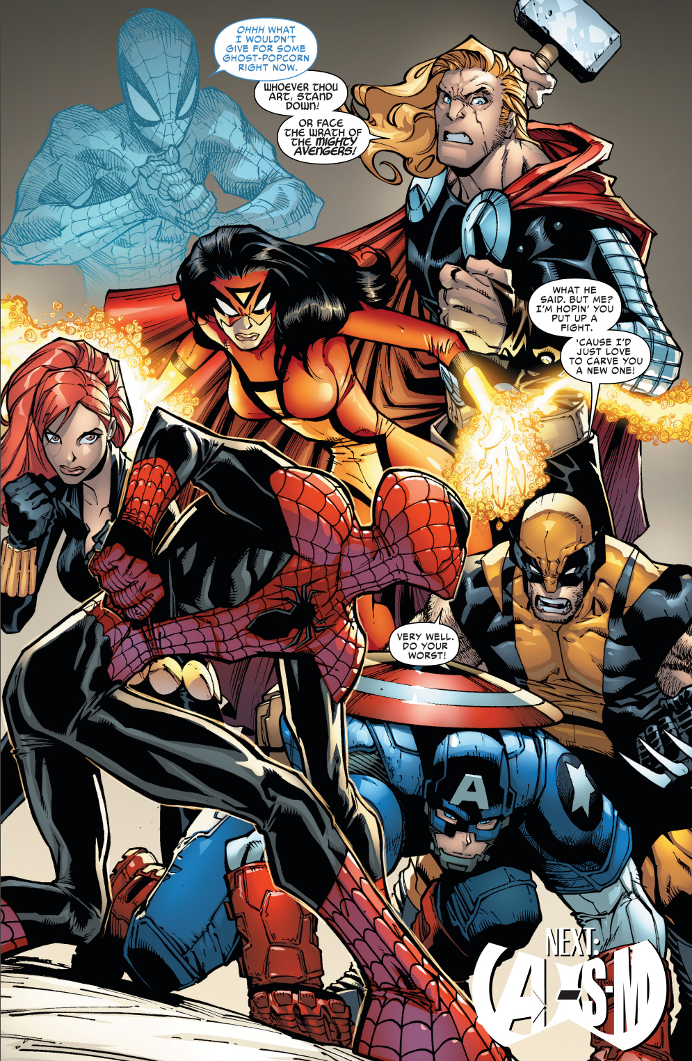 the avengers hold an intervention for superior spider-man