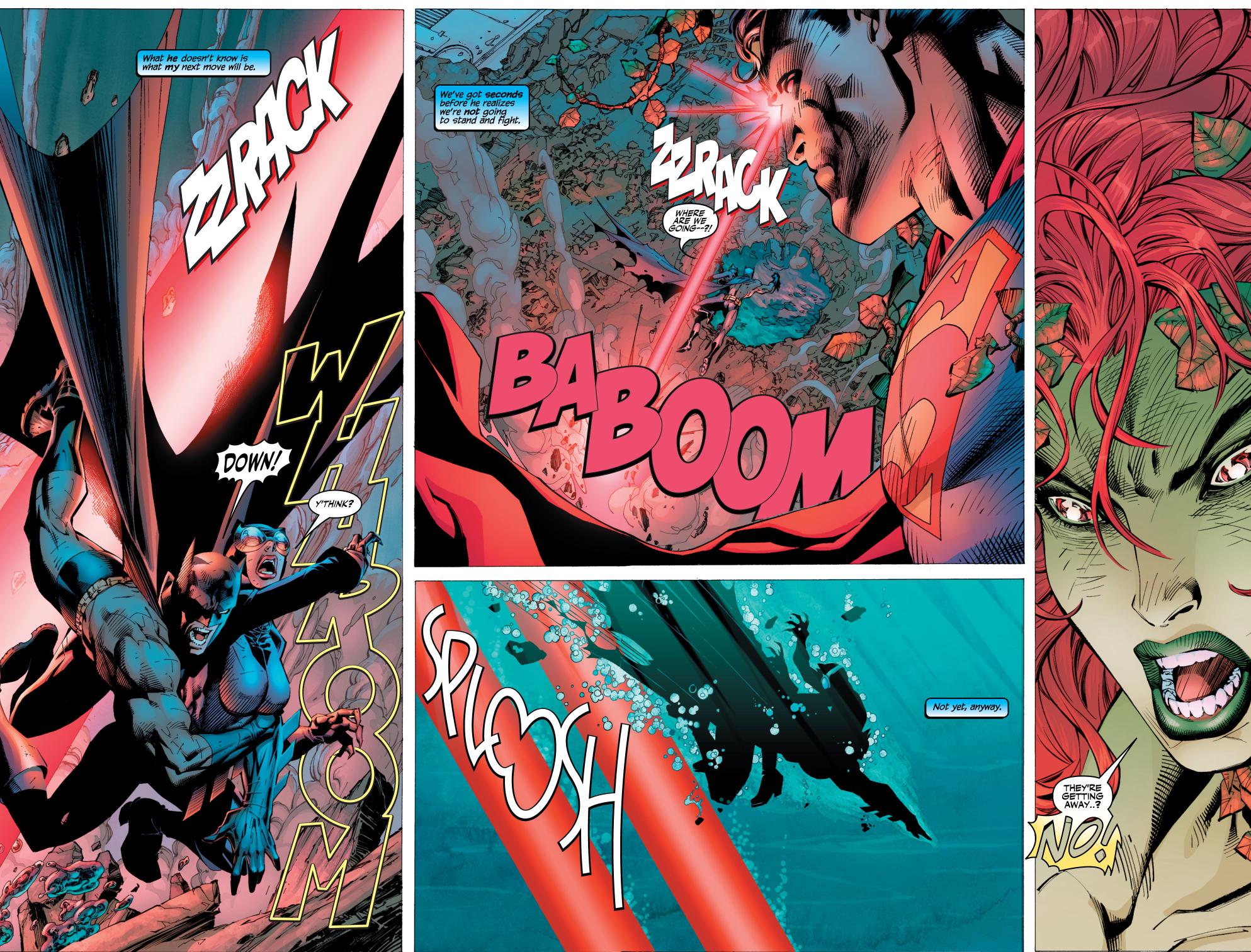 batman know superman's first move