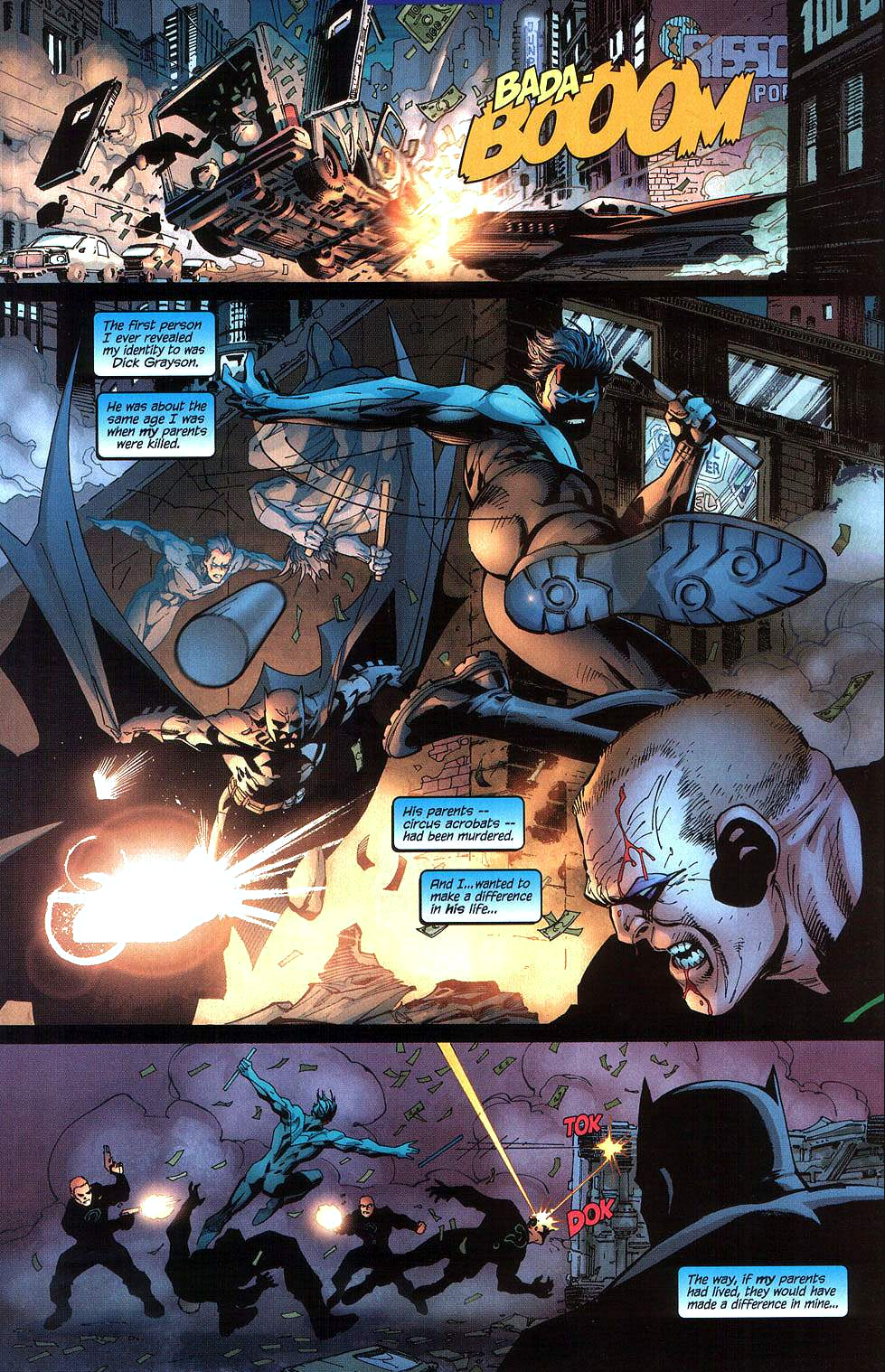 batman muses about nightwing