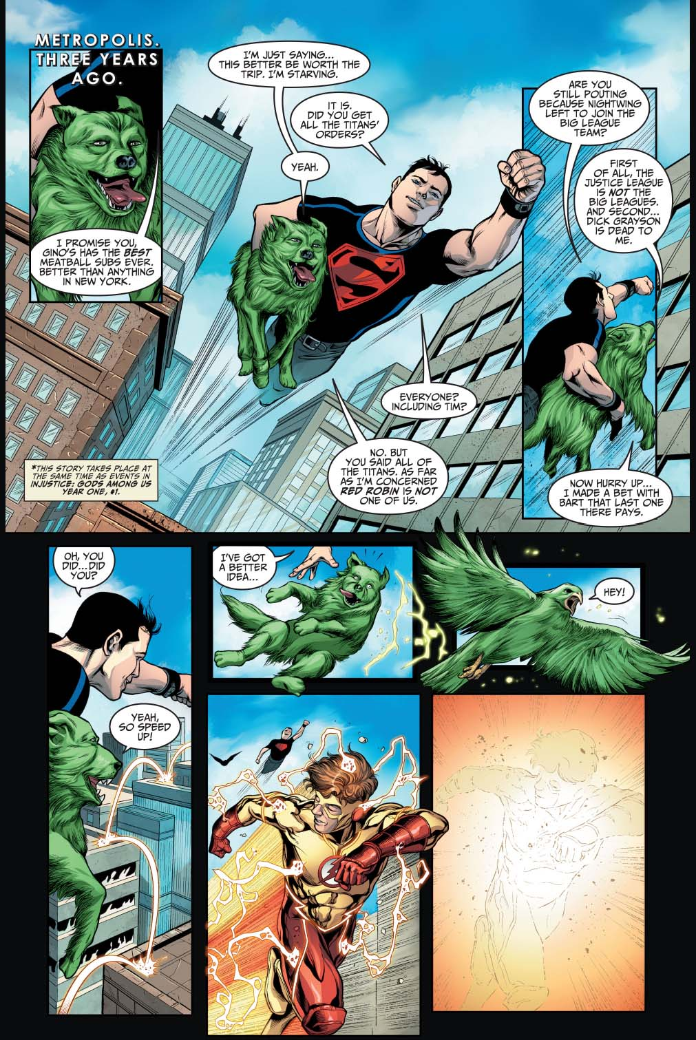 how beast boy and kid flash died