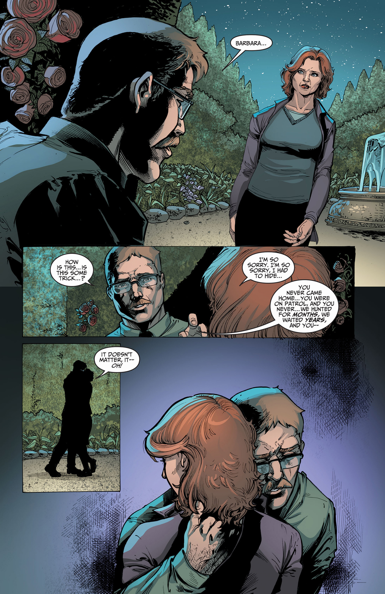 how jim gordon's wife died