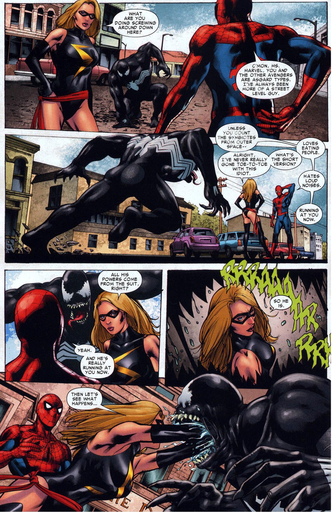 how miss marvel dealt with venom