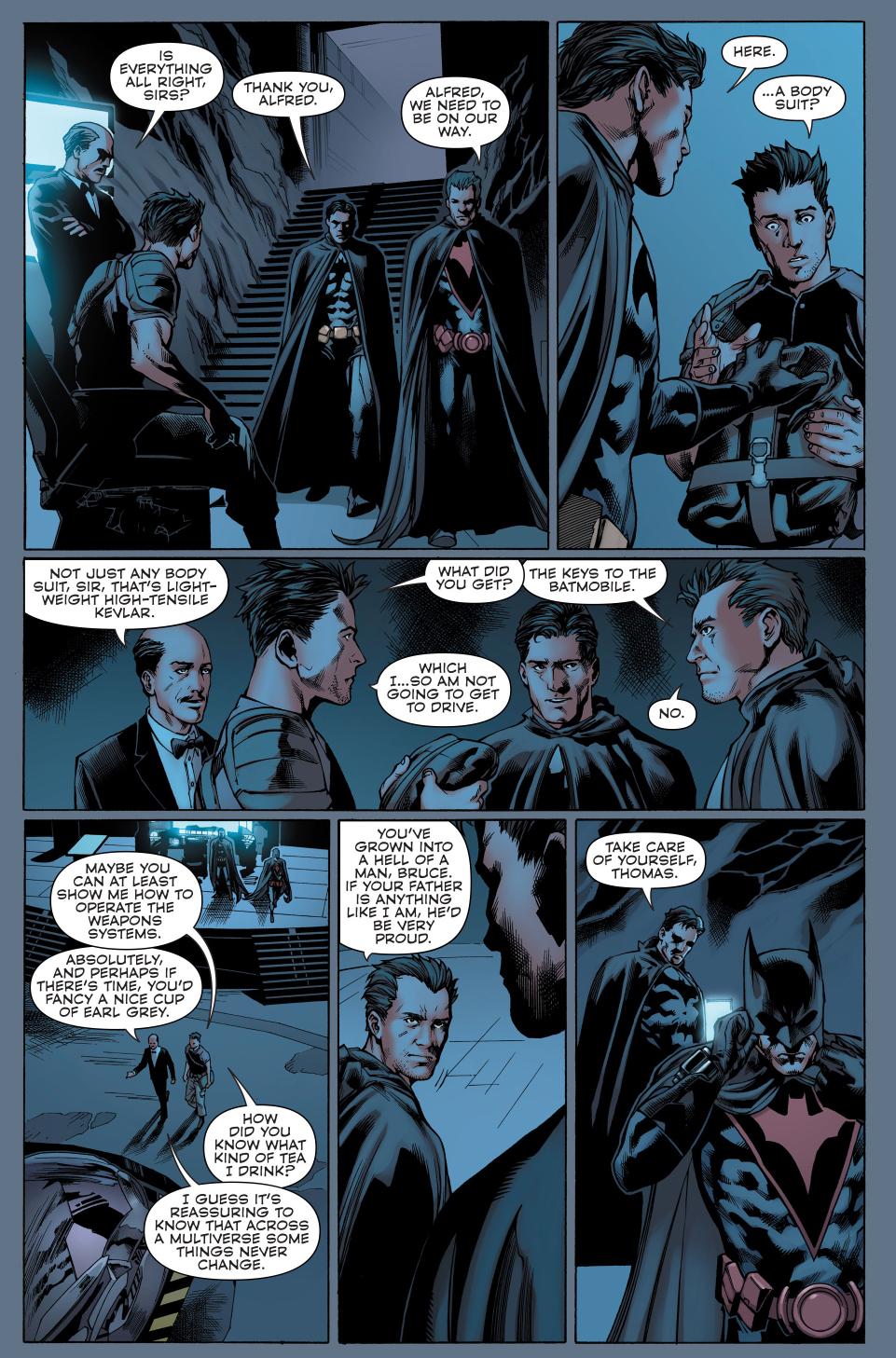 thomas wayne batman meets bruce wayne batman