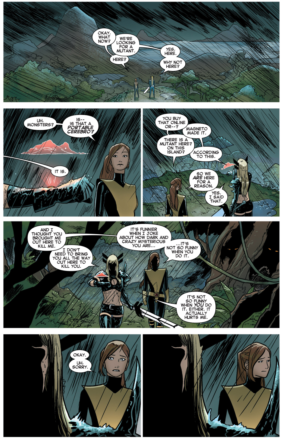 what not to say about magik
