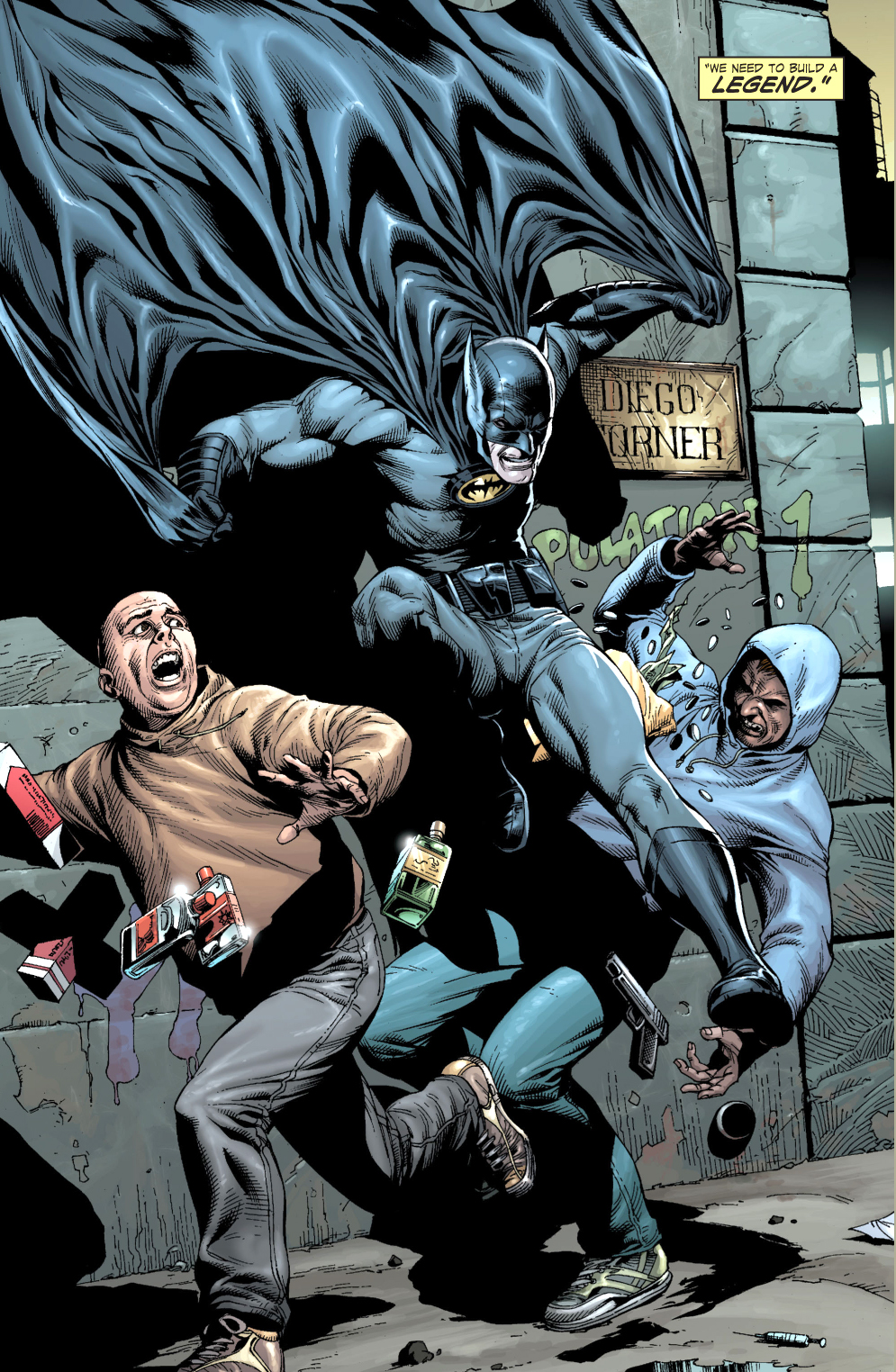 alfred pennyworth's advice for batman (earth 1)