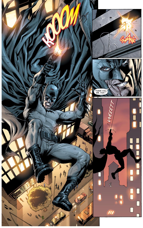 batman crashes into cobblepot's party