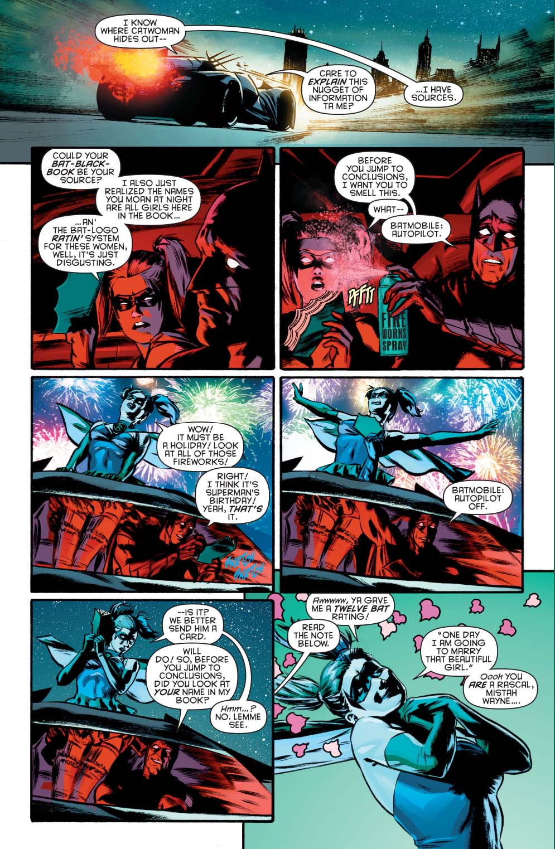 batman dreams of harley quinn