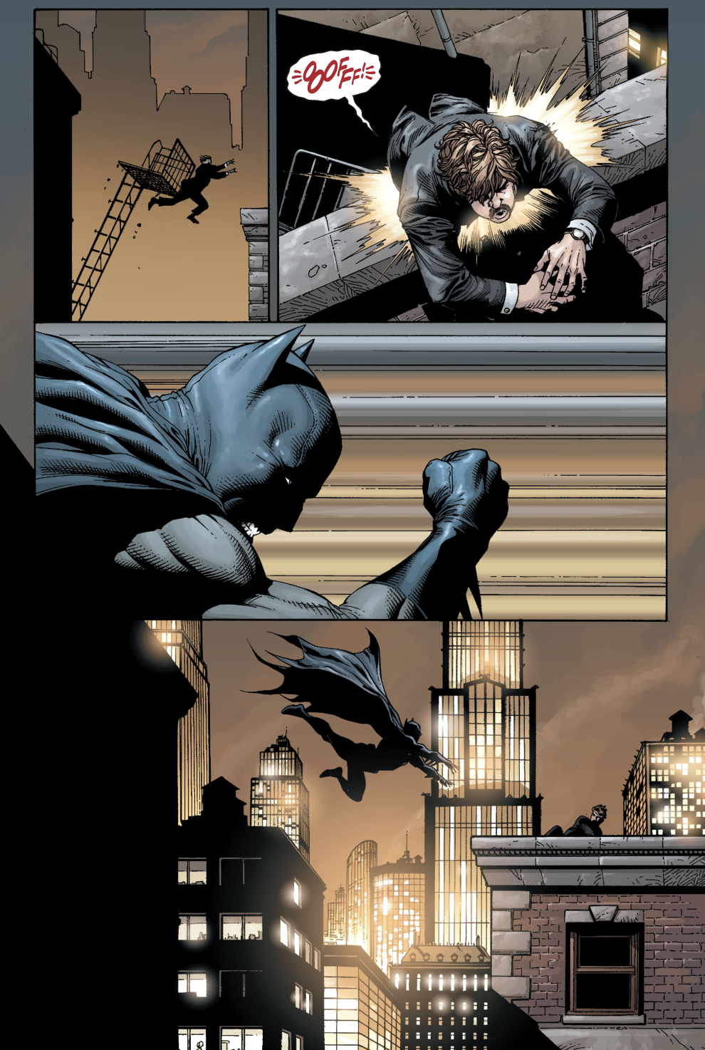 batman starting out (earth 1)