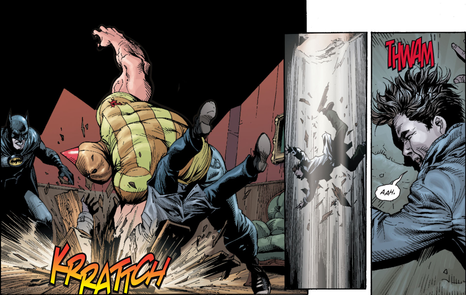 batman vs birthday boy (earth 1)