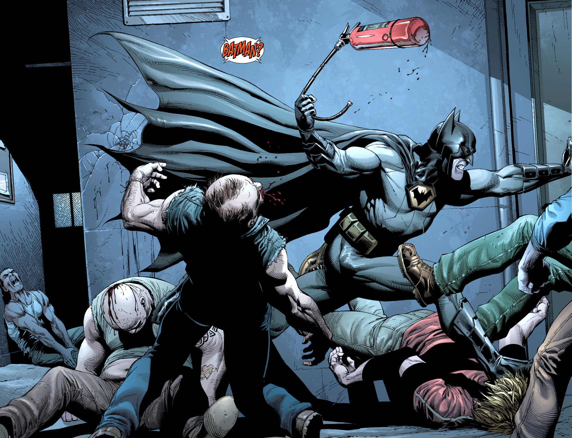 batman vs gotham inmates