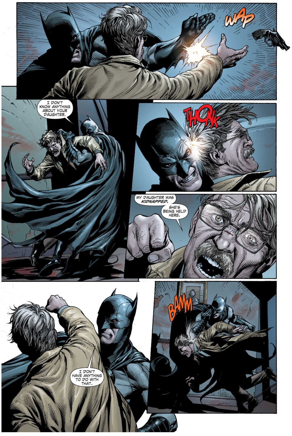 batman vs jim gordon (earth 1)