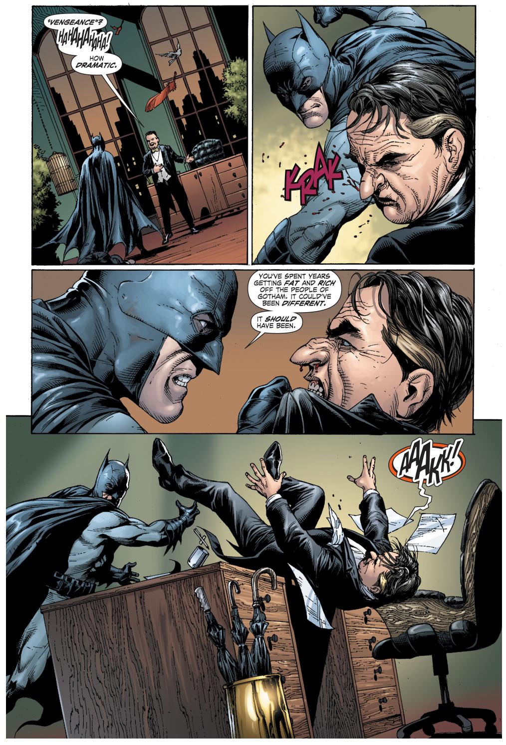 batman vs the penguin (earth 1)