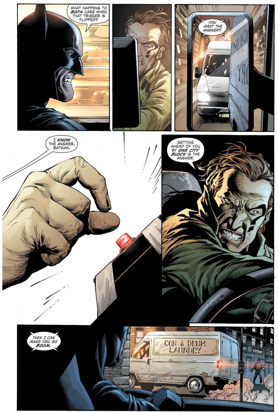 batman's riddle to the riddler (earth 1)