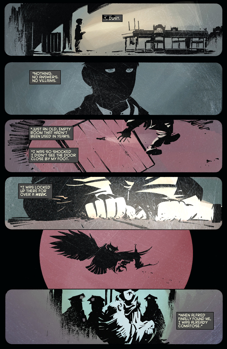 bruce wayne investigated the court of owls
