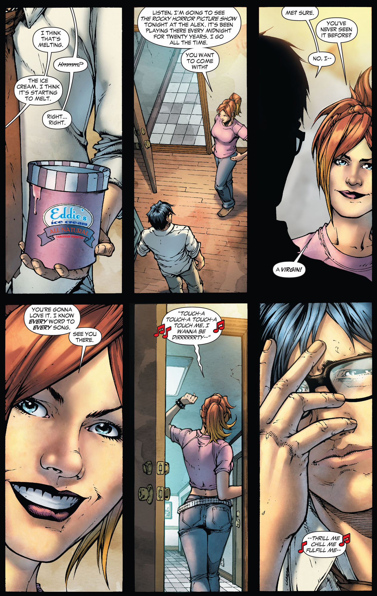 clark kent gets asked out on a date (earth 1)