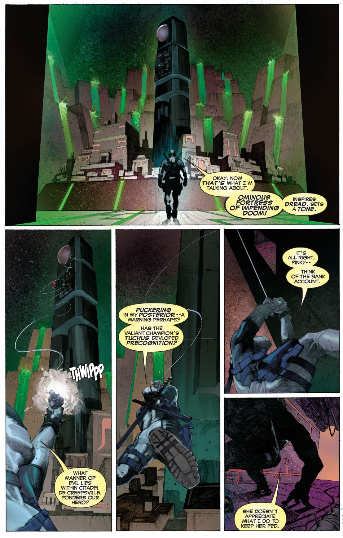 deadpool infiltrates temple of apocalypse