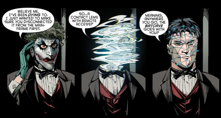 dick grayson impersonates the joker