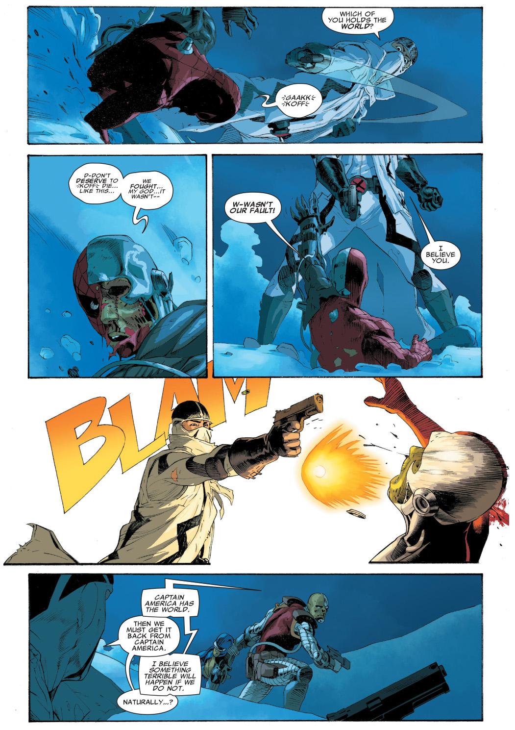 fantomex vs spider-man deathlok