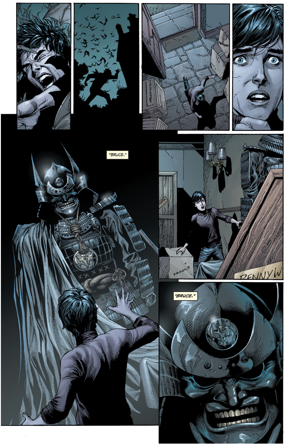 how bruce chose the bat as a symbol (earth 1)