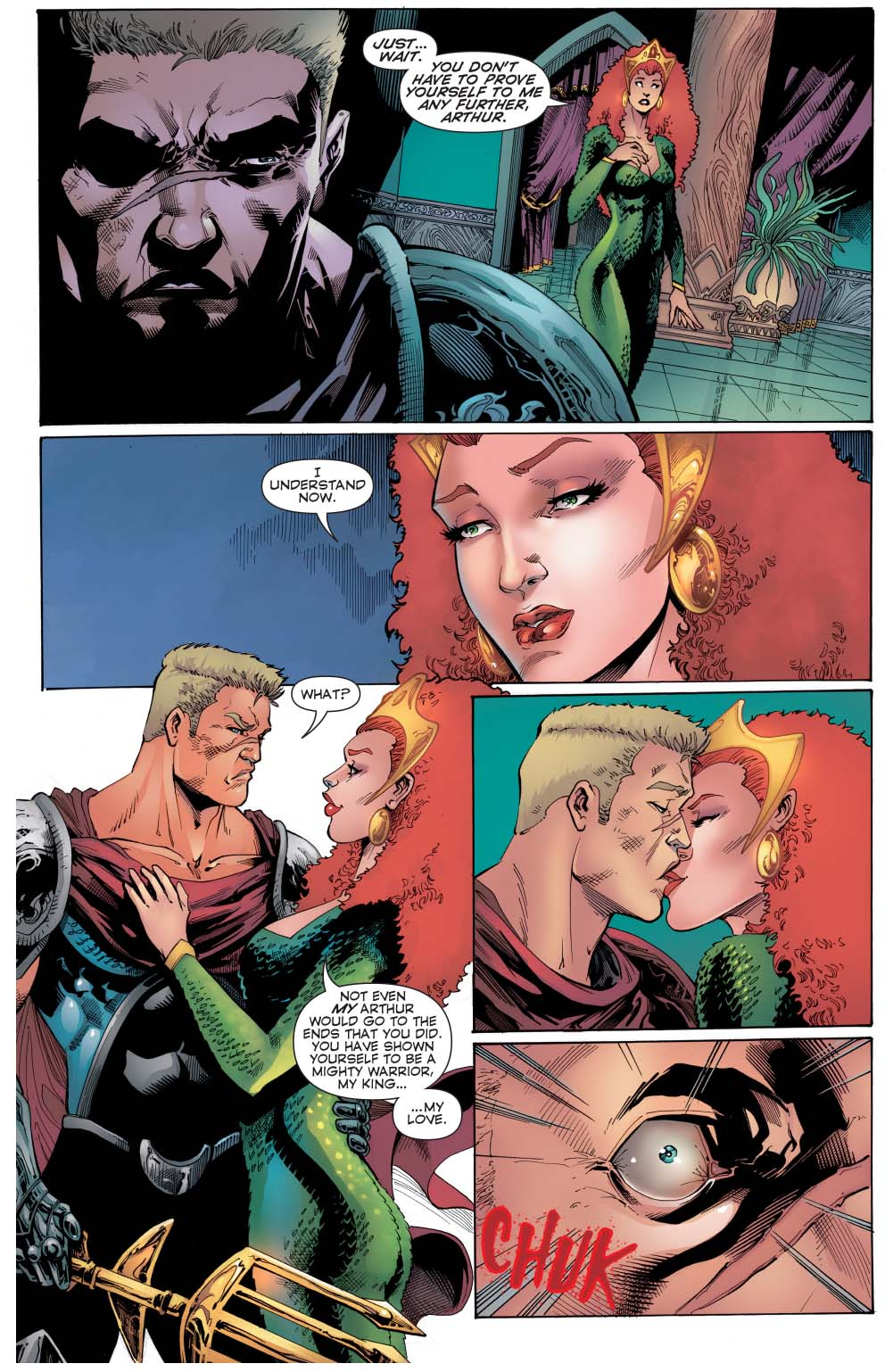 how mera took out aquaman (convergence)