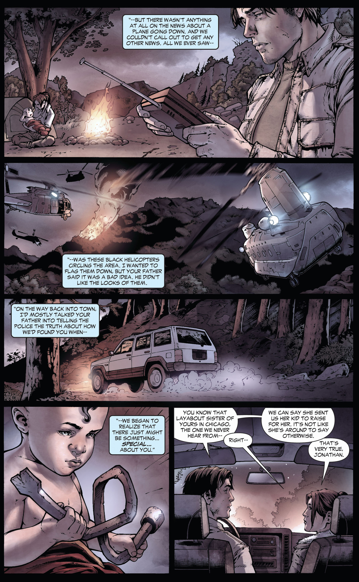 how the kents found clark (earth 1)