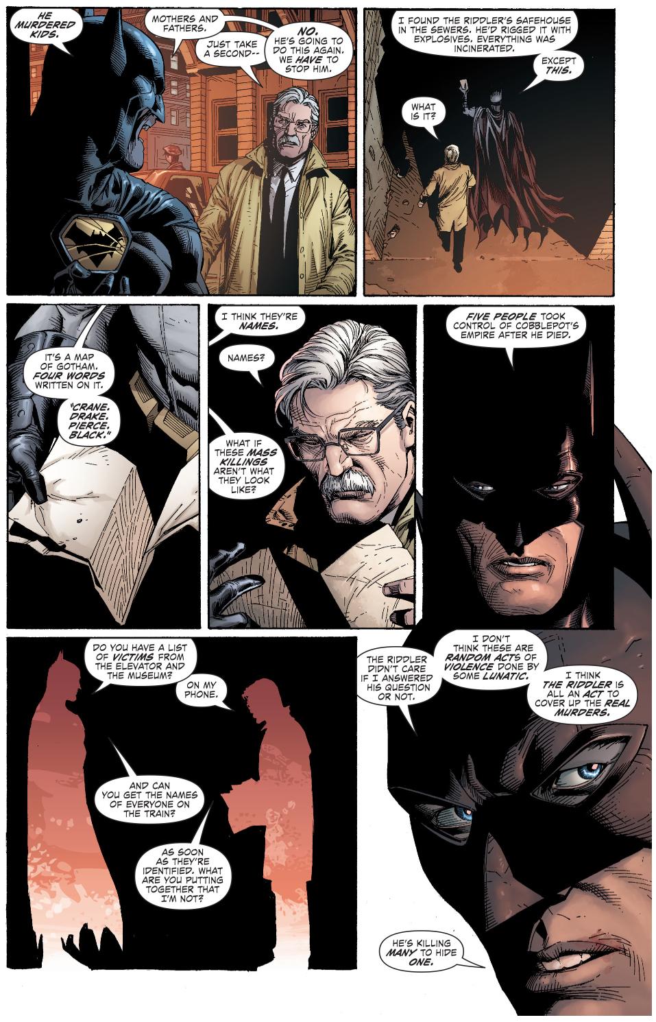 jim gordon impressed with batman's detective skills