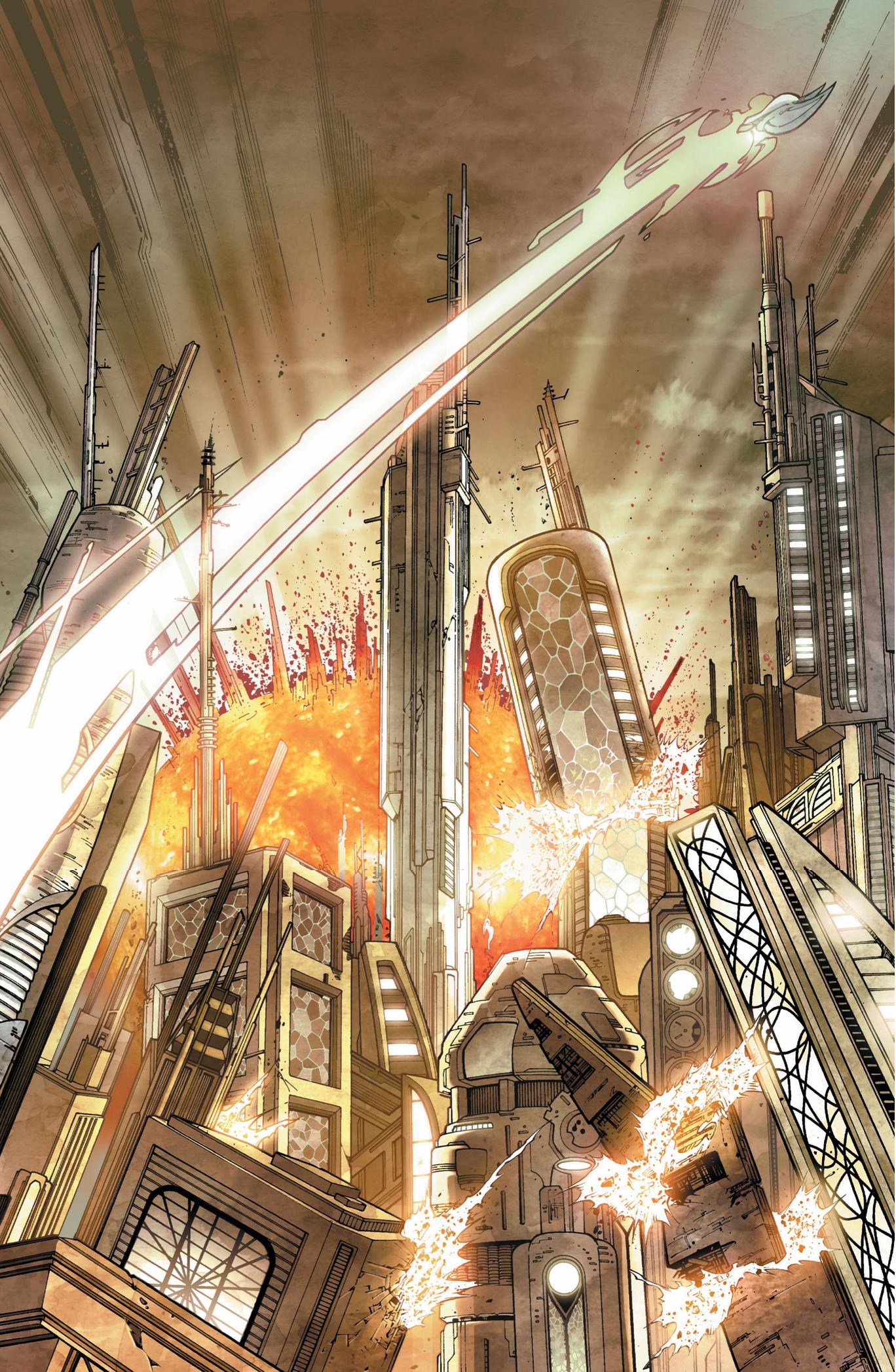 kal-el escapes krypton (earth 1)