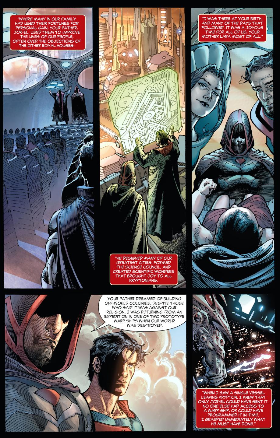 superman meets zod (earth 1)