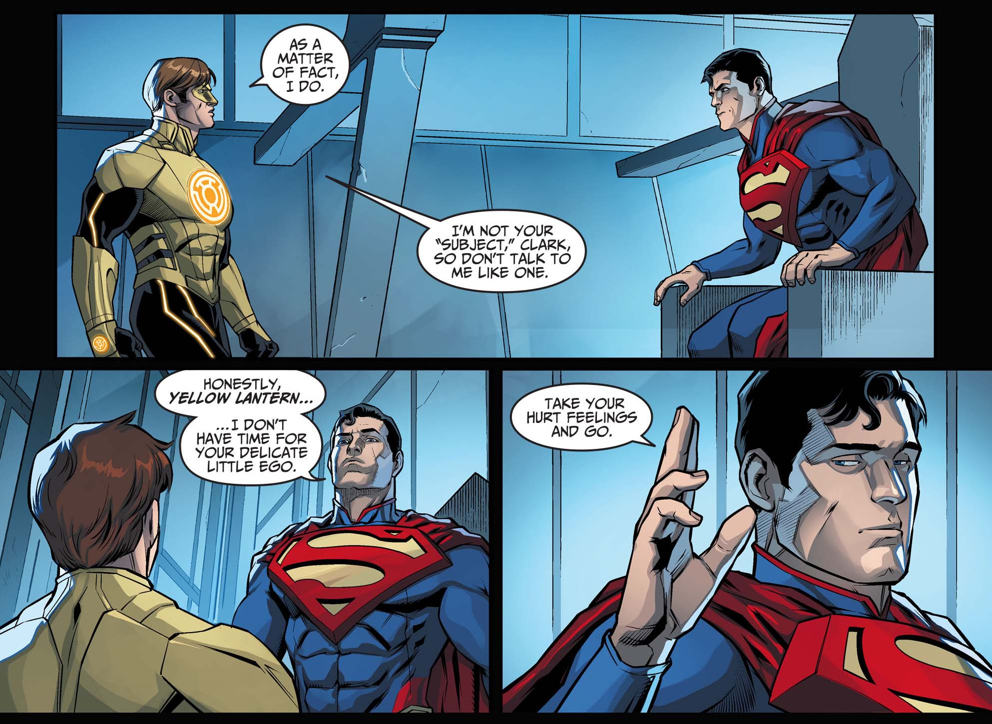 superman starts acting like a ruler