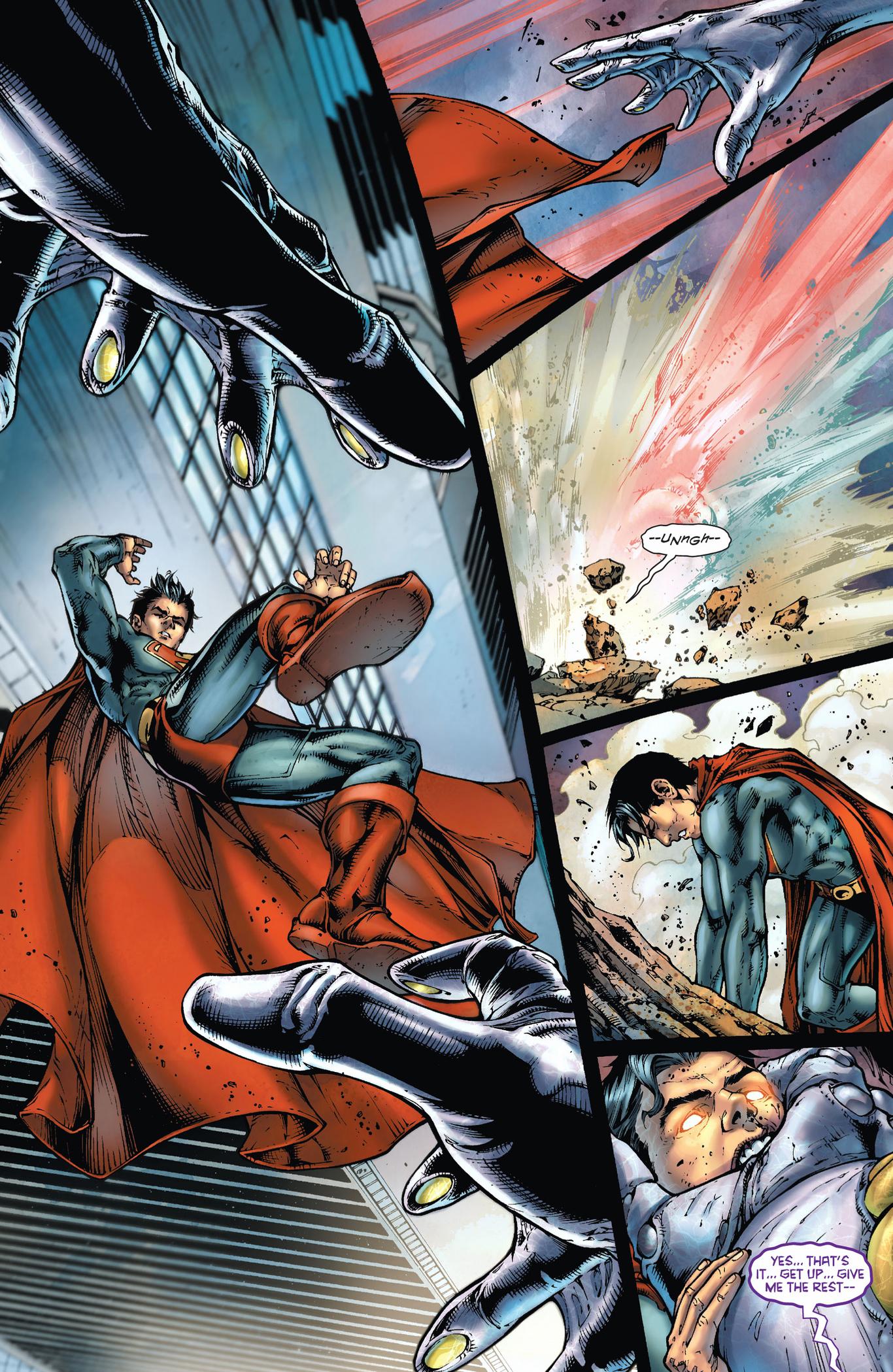 superman vs the parasite (earth 1)